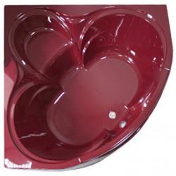 Triton Акриловая ванна Виктория со стеклом, цветная